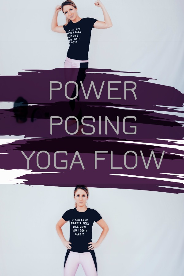 Yoga Flow Power Posing to Confidence