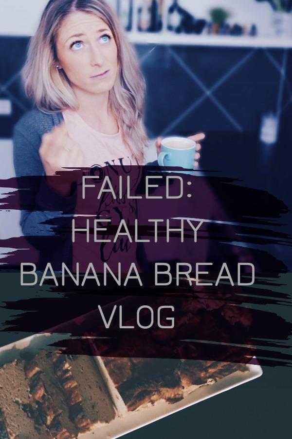 How to Fail at Healthy Banana Bread & Barstool Pizza Review Style Banana Bread Review - Healthy Vlog