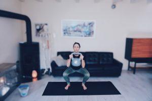Goblet Squat Exercise for full body AMRAP